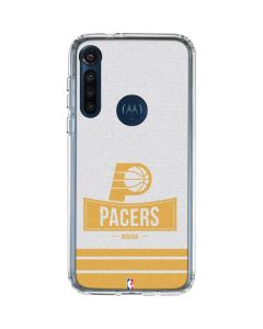 Indiana Pacers Static Moto G8 Power Clear Case