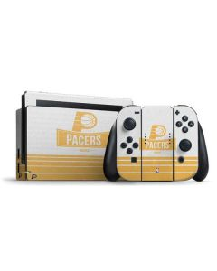 Indiana Pacers Static Nintendo Switch Bundle Skin