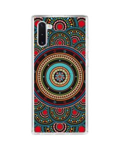 Infinite Circle Colored Galaxy Note 10 Clear Case