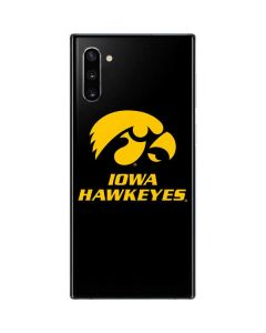 Iowa Hawkeyes Galaxy Note 10 Skin