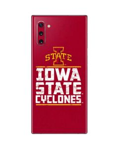 Iowa State Cyclones Galaxy Note 10 Skin