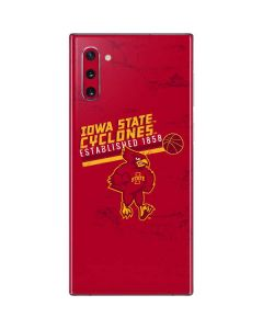 Iowa State Est 1858 Galaxy Note 10 Skin