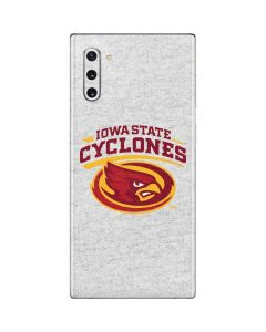 Iowa State Grey Galaxy Note 10 Skin