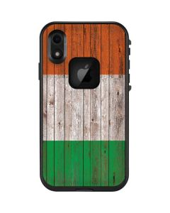Ireland Flag Dark Wood LifeProof Fre iPhone Skin