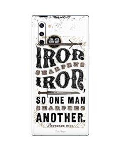 Iron Sharpens Iron Galaxy Note 10 Skin