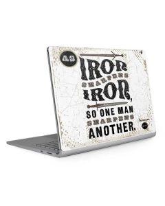 Iron Sharpens Iron Surface Book 2 15in Skin
