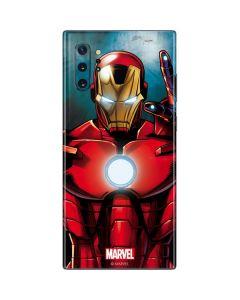 Ironman Galaxy Note 10 Plus Skin