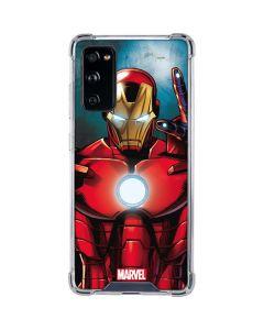 Ironman Galaxy S20 FE Clear Case