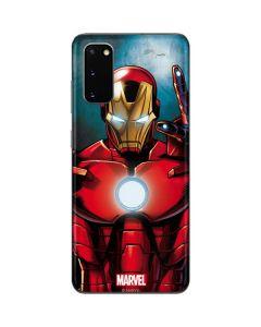Ironman Galaxy S20 Skin