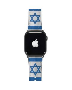 Israel Flag Distressed Apple Watch Band 42-44mm