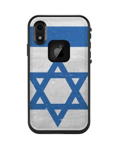 Israel Flag Distressed LifeProof Fre iPhone Skin