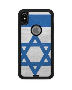 Israel Flag Distressed Otterbox Commuter iPhone Skin