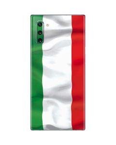 Italy Flag Galaxy Note 10 Skin