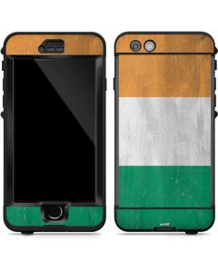 Ivory Coast Flag Distressed LifeProof Nuud iPhone Skin