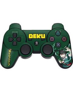 Izuku Midoriya PS3 Dual Shock wireless controller Skin