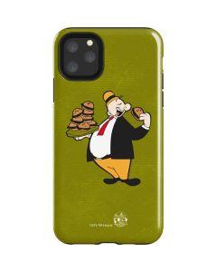J Wellington Eating Burgers iPhone 11 Pro Max Impact Case