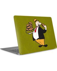 J Wellington Eating Burgers Apple MacBook Air Skin