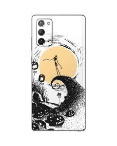 Jack Skellington Pumpkin King Galaxy Note20 5G Skin