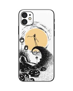 Jack Skellington Pumpkin King iPhone 11 Skin