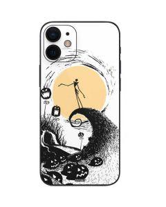 Jack Skellington Pumpkin King iPhone 12 Mini Skin