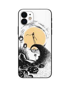 Jack Skellington Pumpkin King iPhone 12 Skin