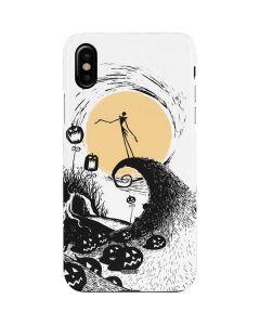 Jack Skellington Pumpkin King iPhone XS Max Lite Case