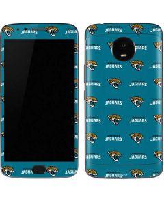 Jacksonville Jaguars Blitz Series Moto E4 Plus Skin