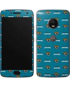 Jacksonville Jaguars Blitz Series Moto G5 Plus Skin