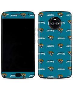 Jacksonville Jaguars Blitz Series Moto X4 Skin
