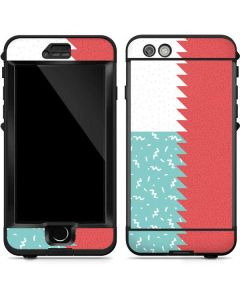 Jagged Split LifeProof Nuud iPhone Skin