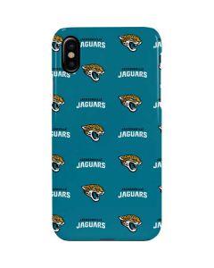 Jacksonville Jaguars Blitz Series iPhone XS Max Lite Case