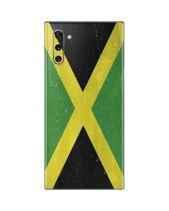 Jamaica Flag Distressed Galaxy Note 10 Skin