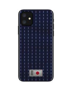 Japan Soccer Flag iPhone 11 Skin