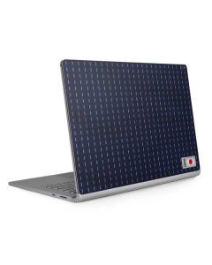 Japan Soccer Flag Surface Book 2 15in Skin