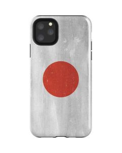 Japanese Flag Distressed iPhone 11 Pro Max Impact Case