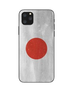 Japanese Flag Distressed iPhone 11 Pro Max Skin