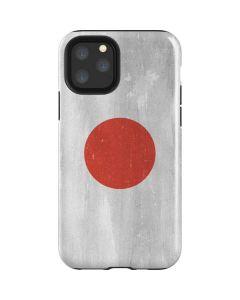 Japanese Flag Distressed iPhone 11 Pro Impact Case