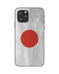 Japanese Flag Distressed iPhone 11 Pro Skin