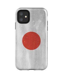 Japanese Flag Distressed iPhone 11 Impact Case