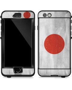 Japanese Flag Distressed LifeProof Nuud iPhone Skin