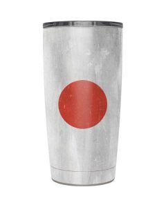 Japanese Flag Distressed Yeti 20oz Tumbler Skin