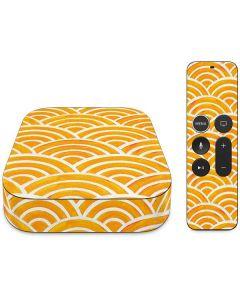 Japanese Wave Apple TV Skin