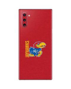 Jayhawks KU Galaxy Note 10 Skin