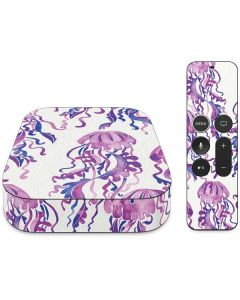 Jellyfish Apple TV Skin