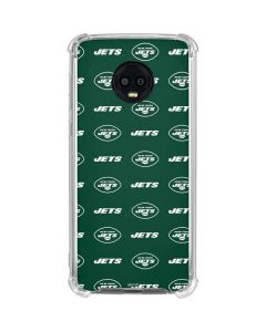New York Jets Blitz Series Moto G6 Clear Case