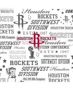 Houston Rockets Historic Blast Google Pixel Slate Skin