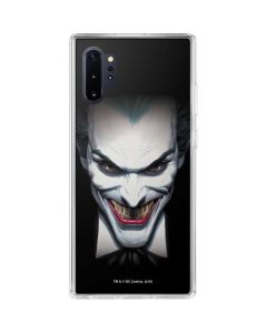 Joker by Alex Ross Galaxy Note 10 Plus Clear Case
