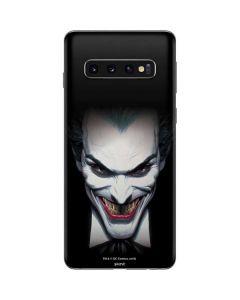 Joker by Alex Ross Galaxy S10 Skin