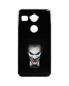 Joker by Alex Ross Google Nexus 5X Clear Case