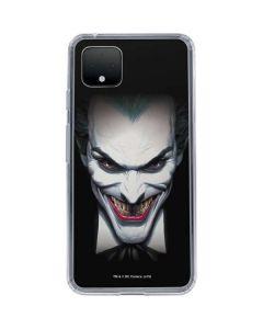 Joker by Alex Ross Google Pixel 4 Clear Case